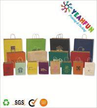 Luxury paper shopping handle bag