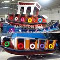 attaction sürmek çocuklar korsan gemisi satılık yatak