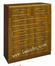 MDF PVC living room furniture drawer chest