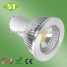 SAA cob 50w halogen replace gu10 led lamp rgb 5w