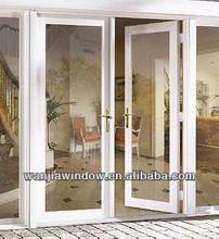 Low price aluminum smart glass door