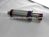 universal titanium muffler