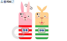 New arrival fashion lovely silicone case for iphone 5