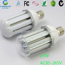 high power led corn light 25w e27 /2000LM led bulb light with 3years warranty