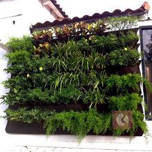 Vivente modulare fioriera muro/verde tasche a parete per Greenwall progetto