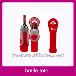 Wine bottle koozies/cooler tote bag/bottle tote bag