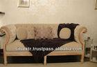 Galleria Designer 3 Seater Classic/Contemporary Sofa Tufted
