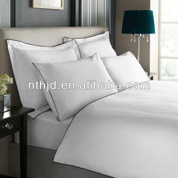 European style 100% cotton hilton hotel duvet cover