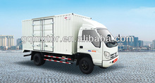 Foton Forland box van truck, cargo truck(half and row, diesel engine, LHD,)