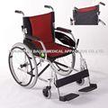 Portátil de peso ligero de aluminio silla de ruedas dimensiones( s01)