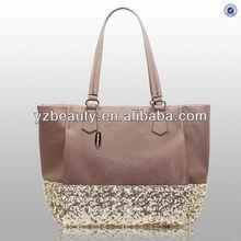 Shinny Paillette Leather PU Hot Fashion Women Handbag