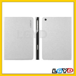 Folio ENKAY ENK-3313 High Quality Cross Texture Protective PU Leather Case for iPad Mini