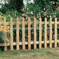 beautiful dog eared fence