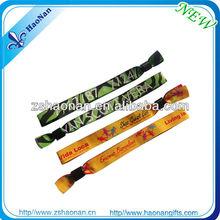 Hot Sale Security Wristbands Fabric Bracelet no minimum