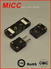 J type omega miniature thermocouple &rtd connector