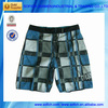 1110# apparel stock mens 100% polyester swim shorts