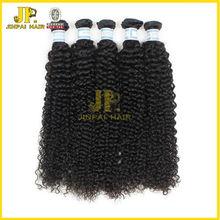 CHARMING STYLE JP hair 100% human hair 5A wholesale indian virgin deep curly hair