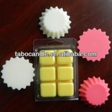 wax tart scent/candle warmer cube/Wax melt tarts flower style