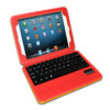 detachable cover leather case for ipad mini 2, bluetooth wireless leather cover keyboard for mini ipad 1/2