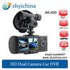 CCTV DVR Dual Lens Car DVR with GPS & G-Sensor AK-400 H 264