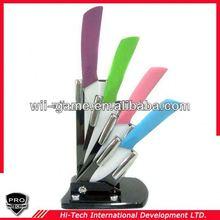 PT-CRMC06 6 Piece Color High quality ceramic knifes set kitchen