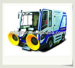 mechanical vacuum street sweeper, battery road sweeper/industrial floor vacuum cleaner/driveway sweeper