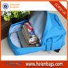 600D baby blue backpack inside detail solar energy school