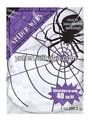 Halloween/accesorios de fiesta/decoración de interior blanco tramo de tela de araña