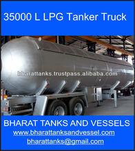 35000 L LPG Tanker Truck