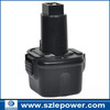 Hot sale! 12V Ni-CD Power Tool Battery for Dewalt 152250-27 397745-01 DC9071 DE9037 DE9071 DE9074 DE9075 DE9501 DW9071 DW9072