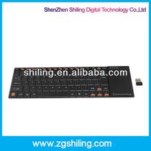 10 inch 2.4GHz RF Wireless Keyboard for Windows 2000/XP/Vista/Win CE/Windows 7
