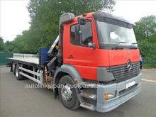 2001/ Mercedes Atego 2528 6x2 rearlift crane/ 19846SL