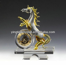 Beautiful crystal horse trophy