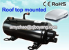 CE ROHS Hermetic Rotary Compressor for Train Air Conditioner Caravan Air Conditioner Camping Car Air Conditioner