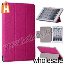 3 Fold Magnetic Flip Leather Case for iPad Mini Retina iPad Mini with Stand