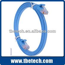 wholesale UTP CAT 5 CAT 5E CAT 6 flat lan cable ethernet cable