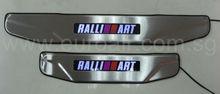 Door Sill plate for Mitsubishi Lancer EX Ralli Art Scuff plate