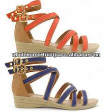 Wholesale Korean Fashion Shoes for woman, Korean wholesale shoes, Summer shoes for woman