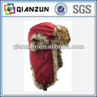 faux fur winter trapper hunting hat