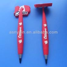 custom Canada flag and leaf logo magnetic pen