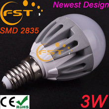 Wholesale Best 3 years warranty CE ROSH 3w amusement led bulb SMD2835 270lm 180degree