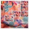 high multi printing chiffon georgette fabric