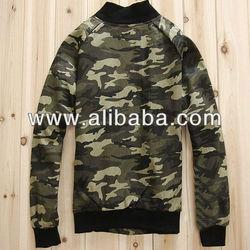 Camo varsity jackets