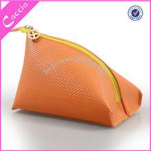 orange new design cosmetic bag eyelash to cream bag