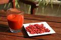 Goji jugo crudo / 100% alimentos orgánicos