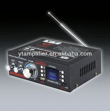 150w subwoofer amplifier YT-688D with usb/tf