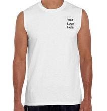 Tanktop 100% cotton o-neck t-shirts sleeveless men