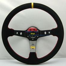 OMP Suede Leather Racing Steering Wheel 350mm (14 inch )