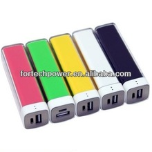 Handset cell phone charger power bank 2600