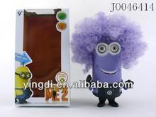 "9"" Newest despicable me case Promotional Despicable Me Minion Toy Action Figures Toy Direct hot sale new vinyl Despicable me"